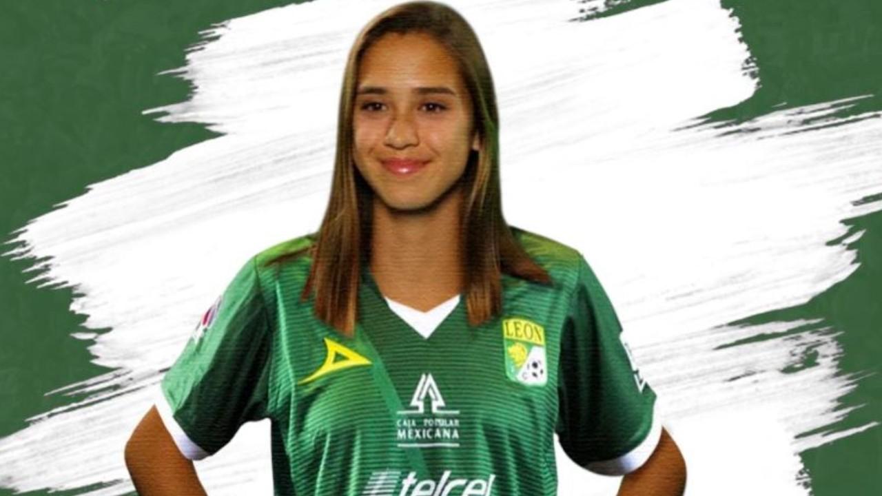 Nailea Vidirio es nuevo fichaje de León en la Liga MX Femenil 09/06/2020