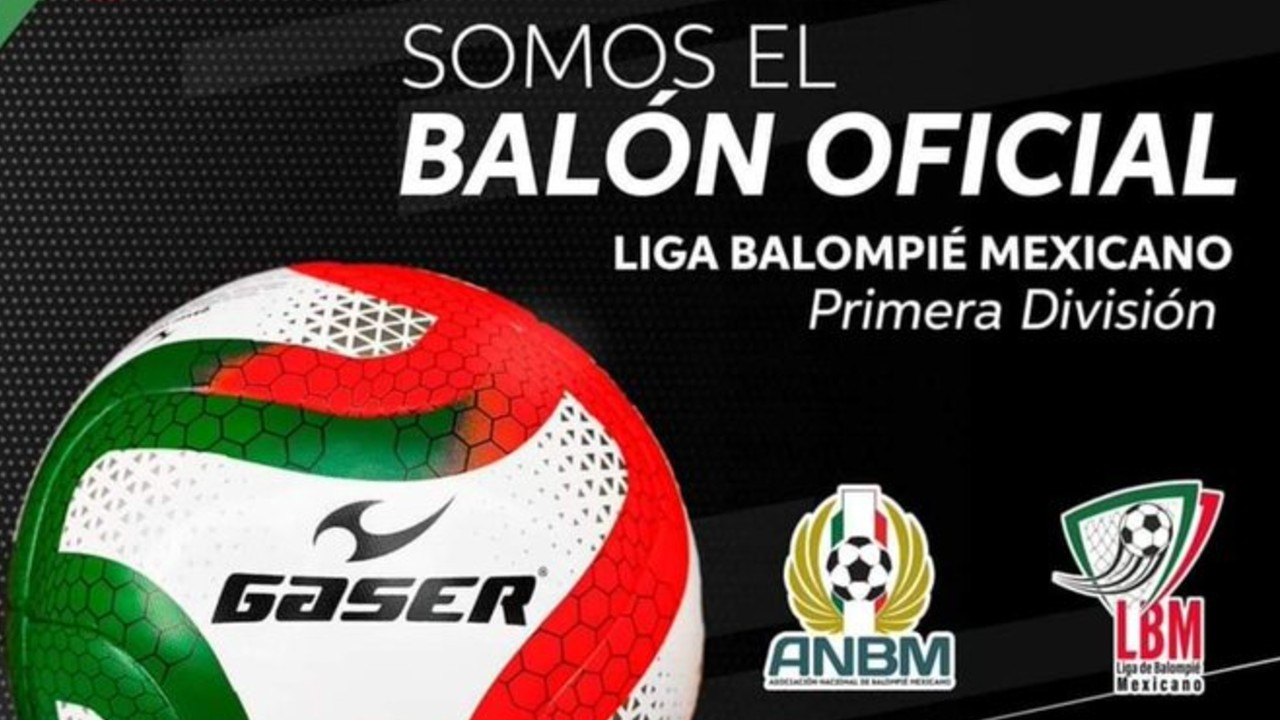 La Liga de Balompié Mexicano presenta el balón oficial 04/06/2020