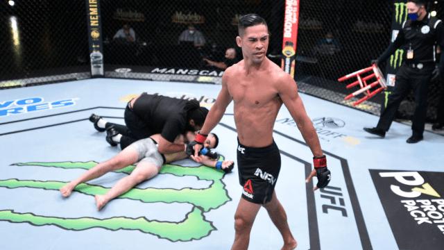 Tres peleas de la UFC terminan con sorprendentes nocauts 15/06/2020