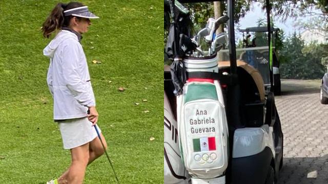 Llueven críticas a Ana Guevara por jugar golf en el trabajo 31/07/2020