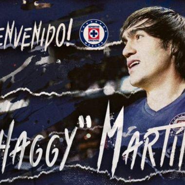 Cruz Azul anuncia al Shaggy Martínez como su nuevo refuerzo 09/07/2020