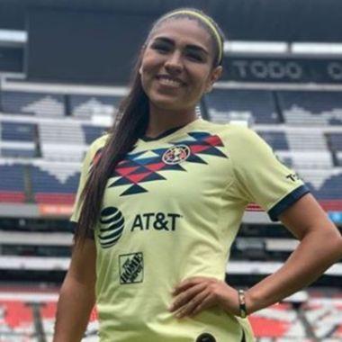 Estefanía Fuentes, del América Femenil, se marcha a Europa 08/07/2020