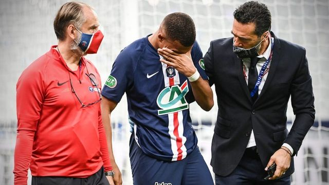 Conoce la gravedad de la lesión que sufrió Mbappé con el PSG 25/07/2020