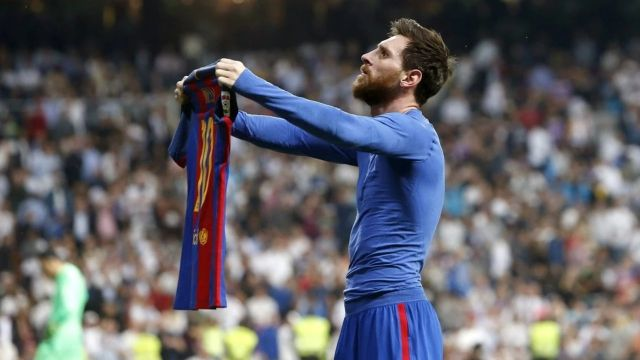 La NASA podría tener la playera de los 700 goles de Messi 01/07/2020