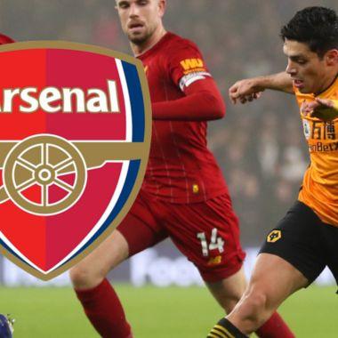Le sale nueva novia a Raúl Jiménez: Arsenal