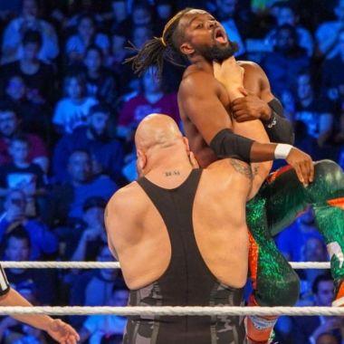 Big Show deformó el pecho de un luchador con sus golpes 11/07/2020