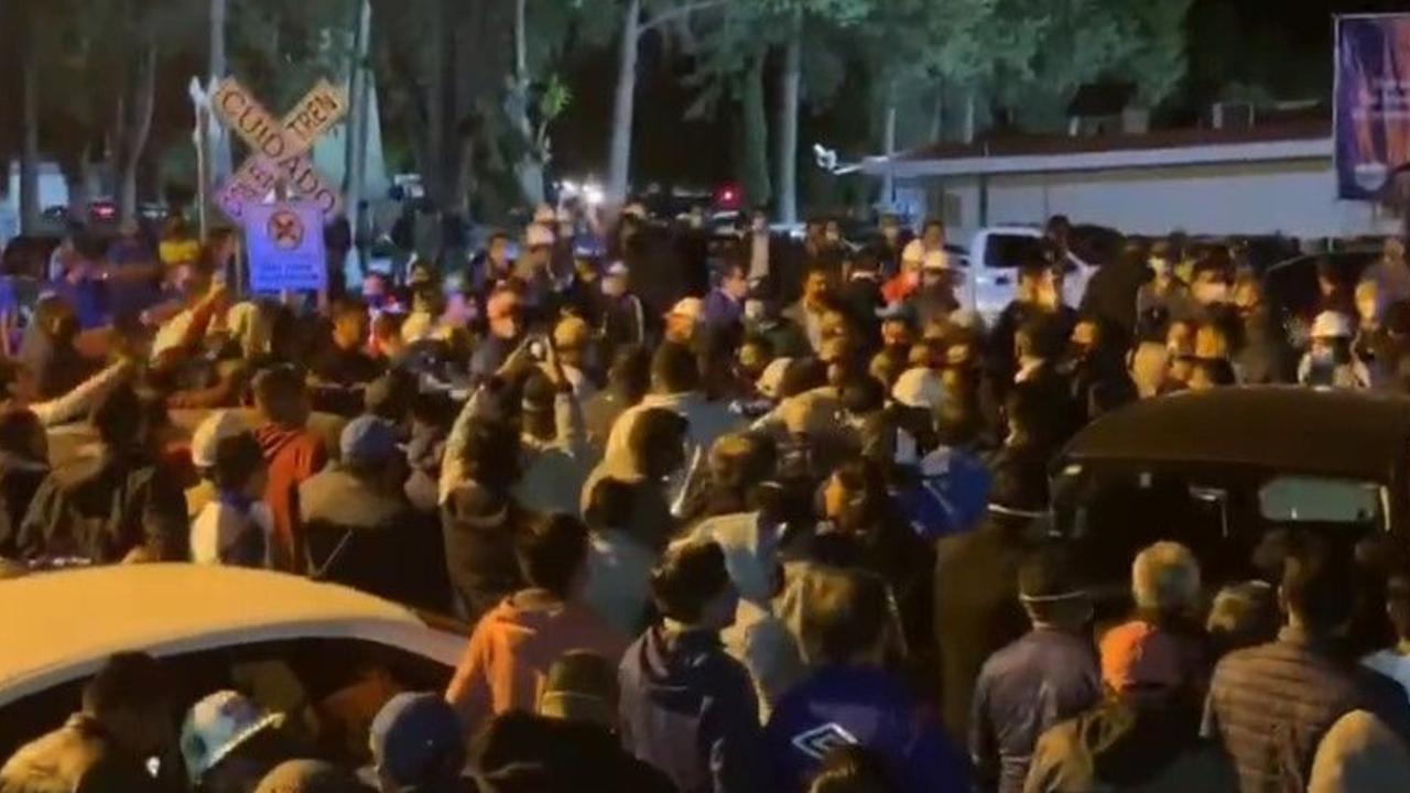 Reportan balacera a las afueras de la Cooperativa Cruz Azul