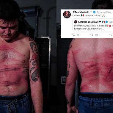 Mexicanos de la WWE se unen para salvar a Dominik Mysterio