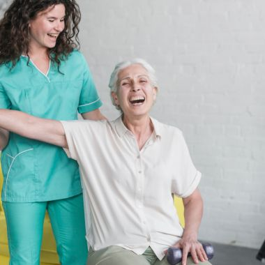 Ejercicios para mantener la salud de los adultos mayores