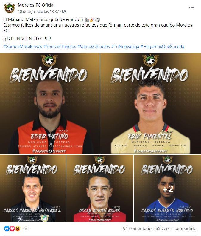 Equipo de la LBM engaña a Erik Pimentel y Óscar Adrián Rojas exjugadores del América en firma de contratos