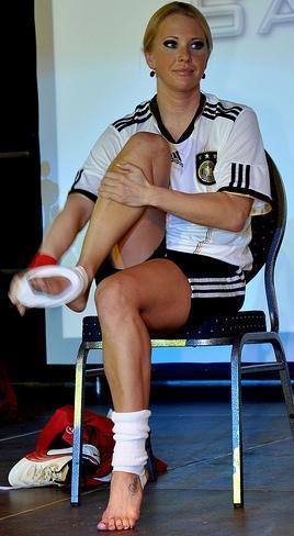 Eva Roob, la futbolista que incursionó en películas xxx