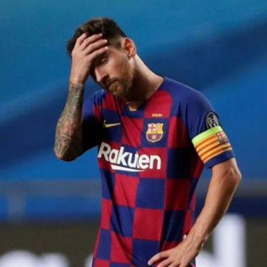 Lionel Messi Salida Barcelona Kun Aguero Los Pleyers