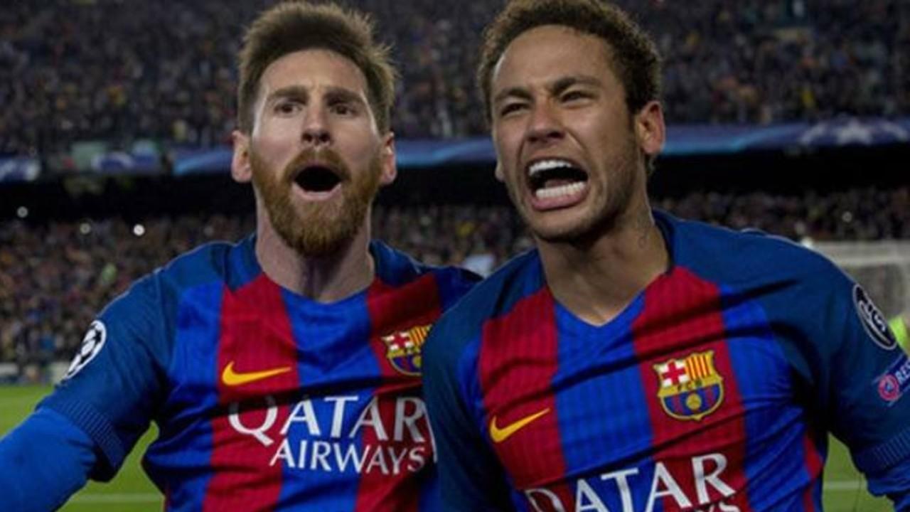Messi y Neymar juntos en el Barcelona y ahora cada vez más cerca de Inglaterra