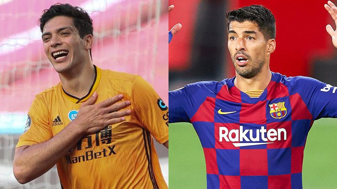 Luis Suárez y Raúl Jiménez, uno jugará en la Juventus