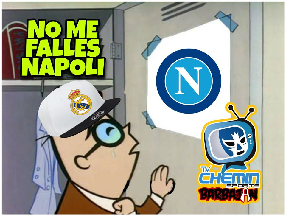 Real Madrid Napoli Meme Los Pleyers