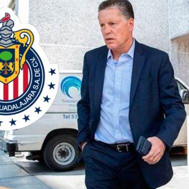 Ricardo Peláez llama a Vucetich para que tome a Chivas