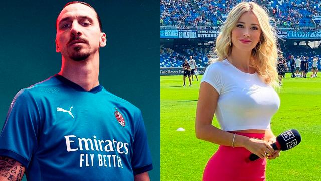 """Zlatan aprovecha vacaciones para estar con esposa y disfrutar a su """"amante"""" Diletta Leotta"""