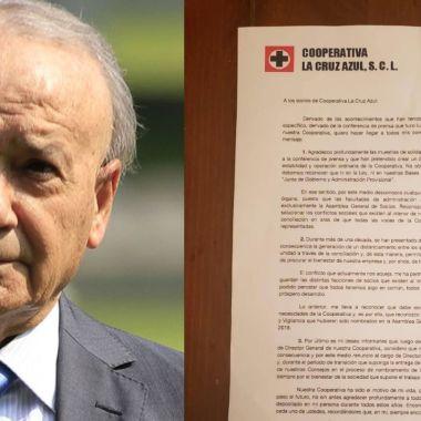 Oficial: Durante la madrugada Billy Álvarez renunció a Cruz Azul 01/08/2020