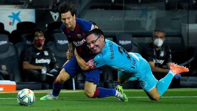 Meme de Messi y Batomeu