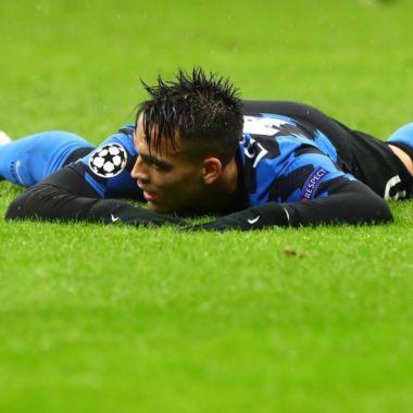 Lautaro Martinez fracasó con el Inter de Milán