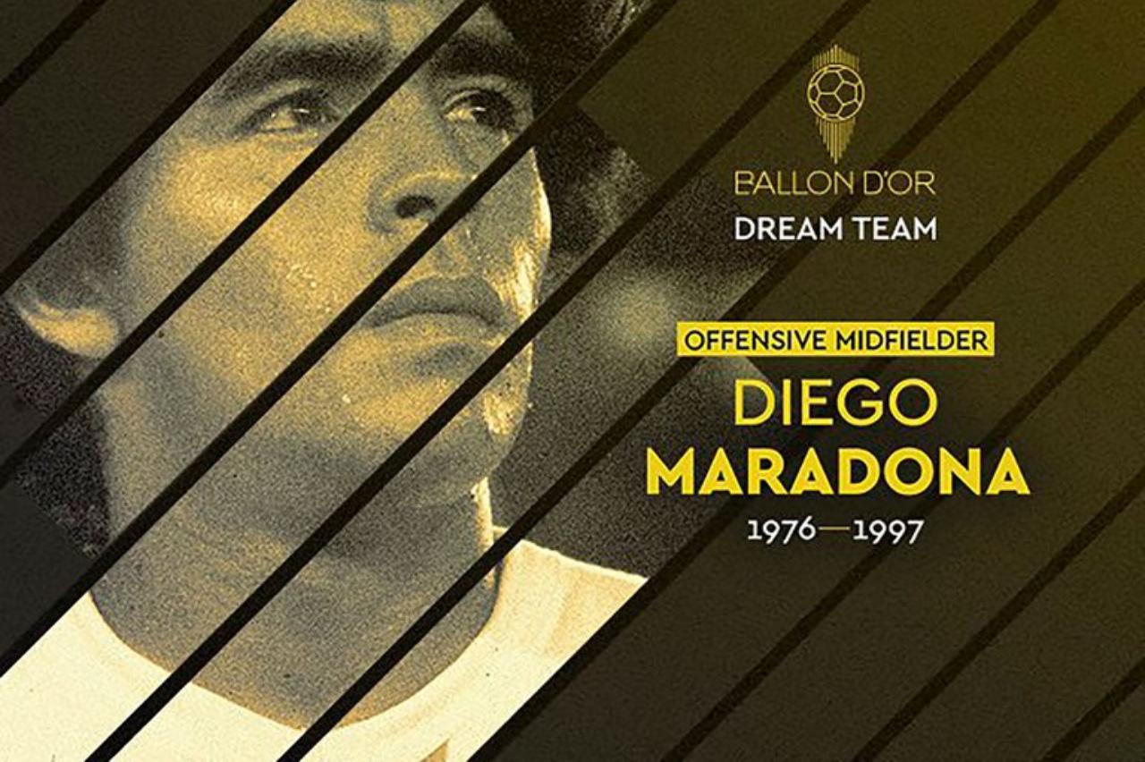 Diego Armando Maradona el mejor medio ofensivo de la historia