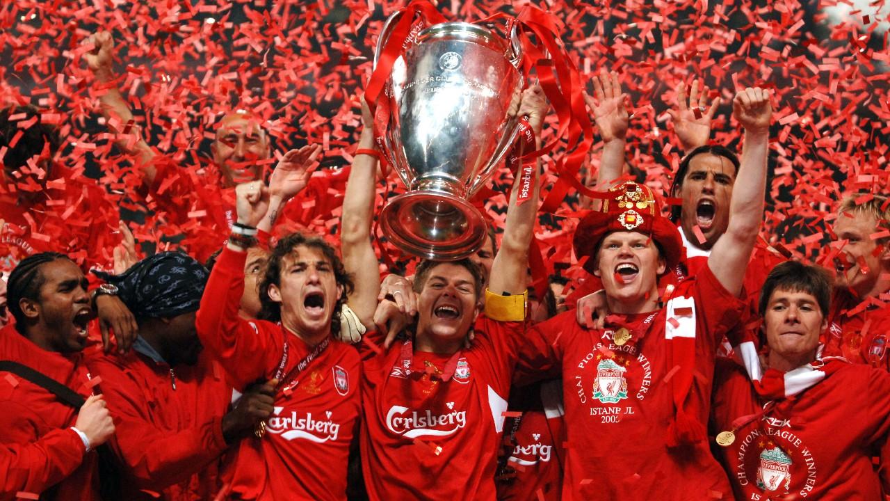 liverpool campeón del milagro de estambul 2005