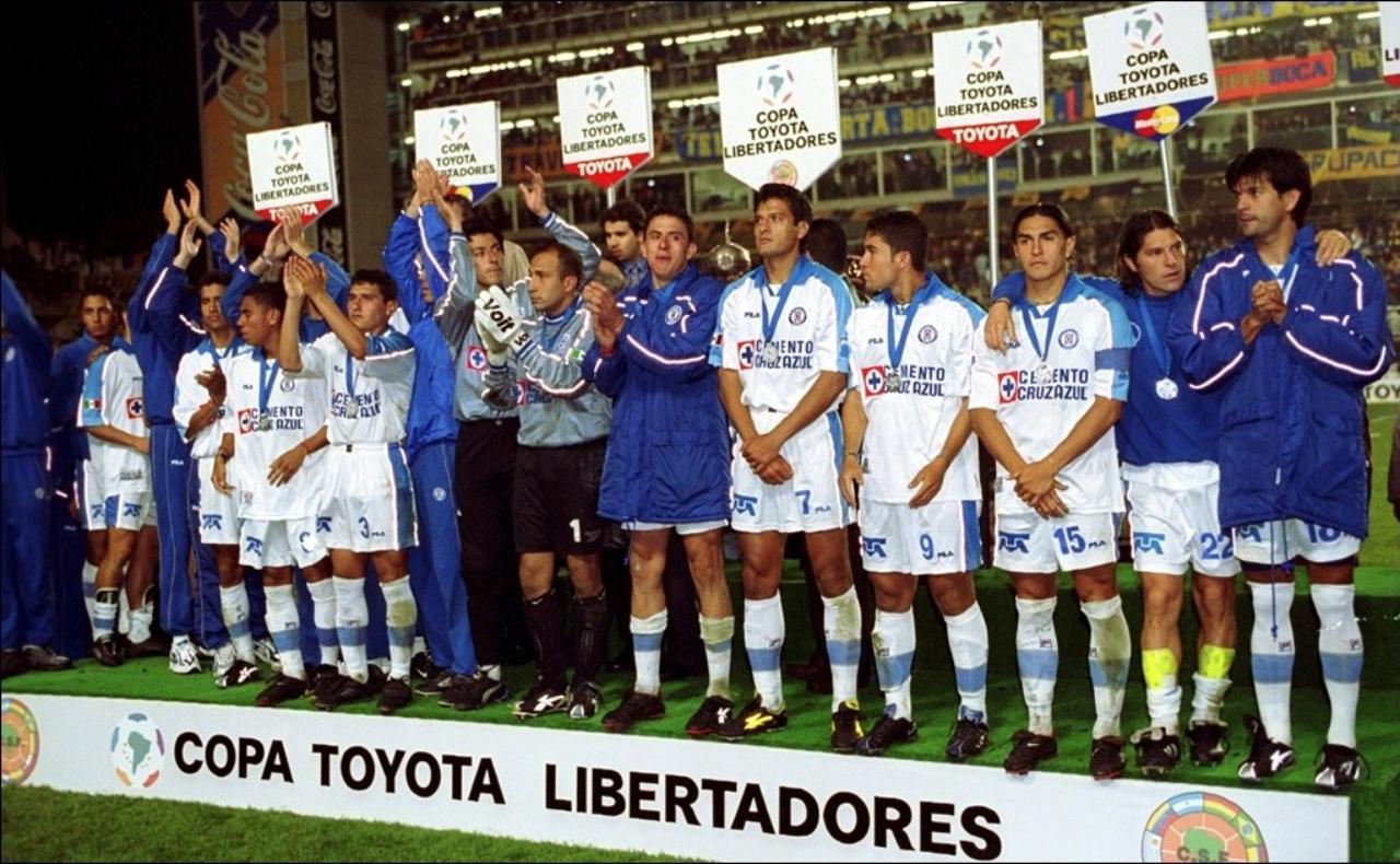 Cruz azul subcampeón copa libertadores