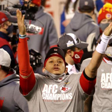 Kansas City Chiefs ganando la Nacional