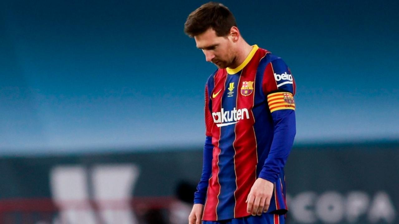 Lionel Messi y los fracasos del Barcelona