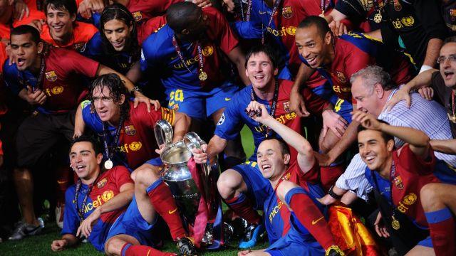 Barcelona que ganó el sextete