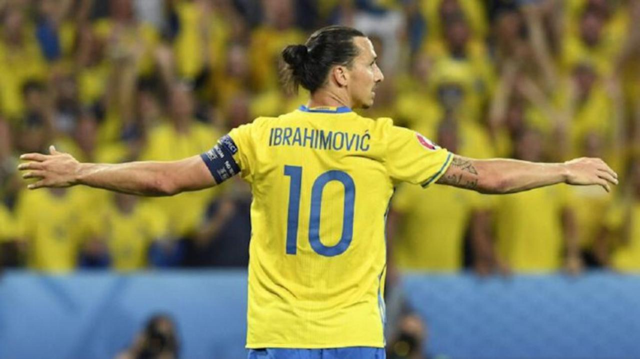 Zlatan Ibrahimovic regresa con Suecia