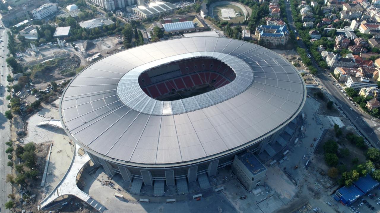 Puskas Arena Manchester City vs. Gladbach