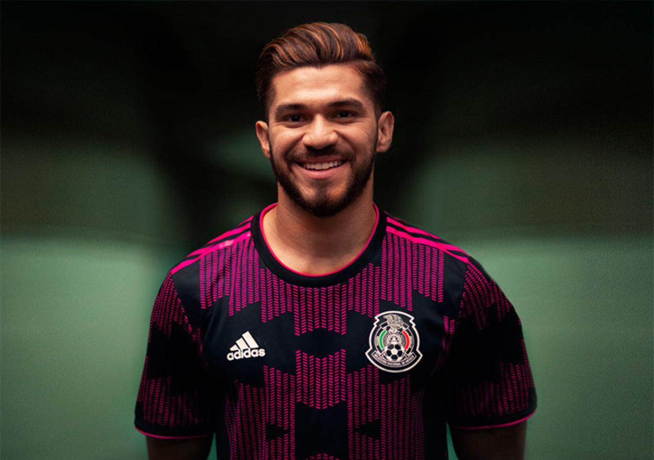 Henry Martin nuevo jersey selección mexicana