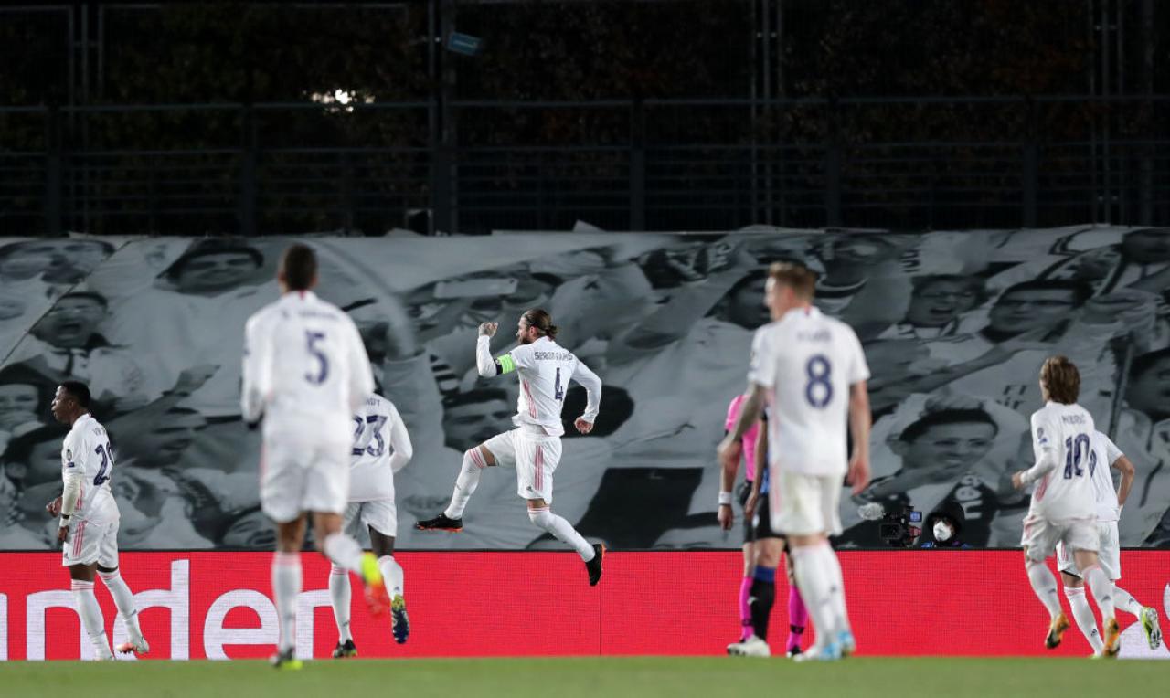 Sergio Ramos penal Real Madrid Atalanta