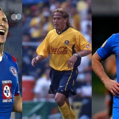 América Cruz Azul jugadores ambos clubes
