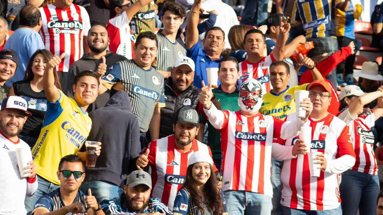 Atlético San Luis público Jornada 15 Alfonso Lastras