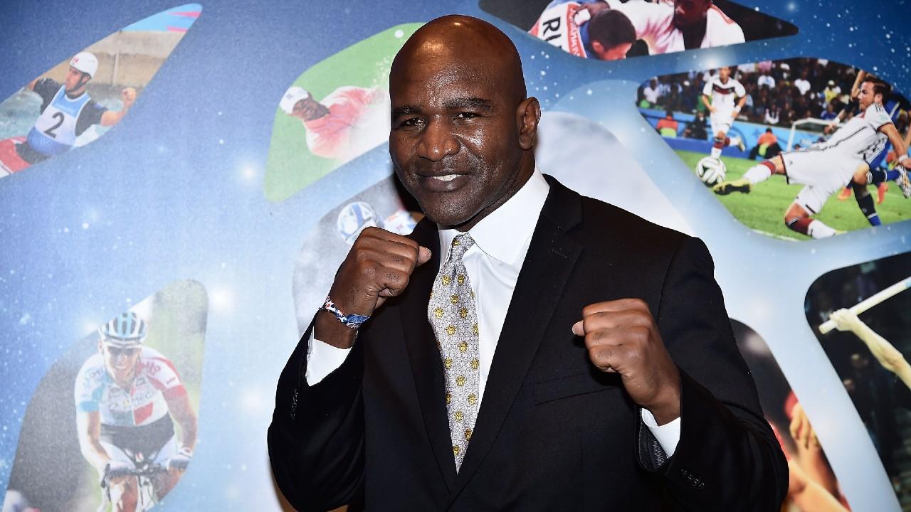 Evander Holyfield boxeo box campeon regreso