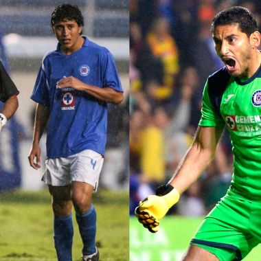Cruz Azul jugadores más partidos historia