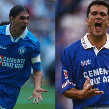 Cruz Azul cinco máximos goleadores club
