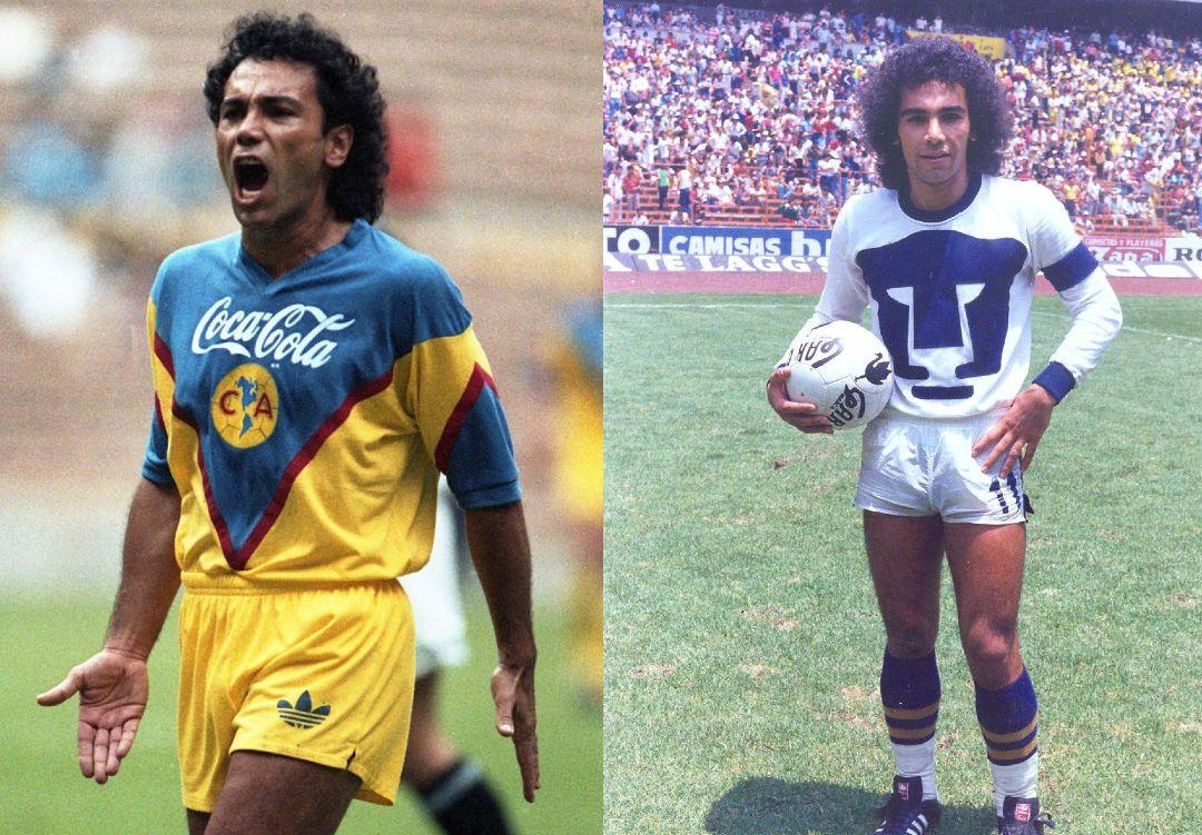 América Pumas jugadores ambos equipos Hugo Sánchez