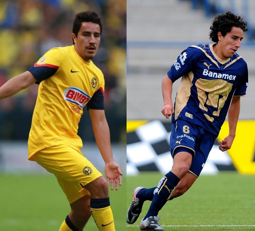 América Pumas jugadores ambos equipos Efraín Juárez