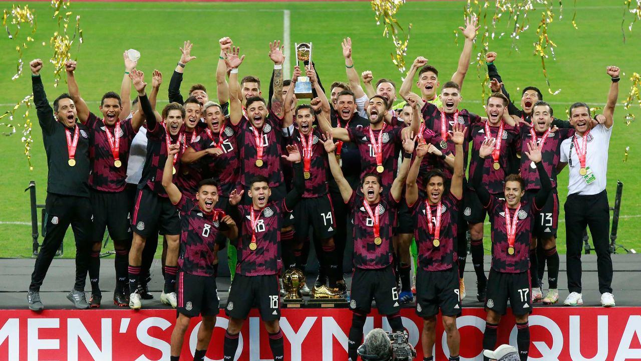 selección mexicana futbol tokio 2020 juegos olímpicos