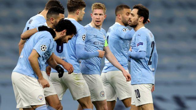 Fútbol: Manchester City derrota al Borussia Dortmund en la ida de los cuartos de final de la UEFA Champions League