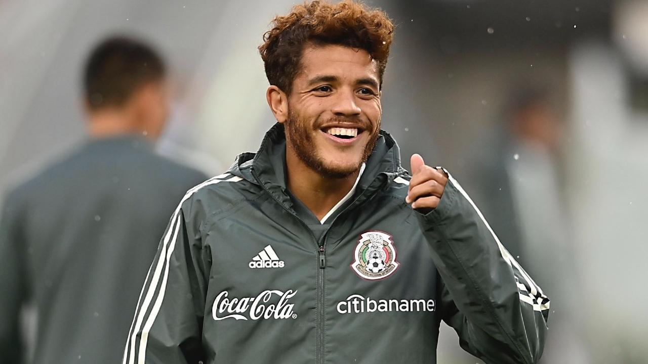 Jonathan dos Santos Barcelona estilo Selección Mexicana