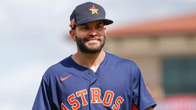José Altuve regreso entrenamiento Astros MLB