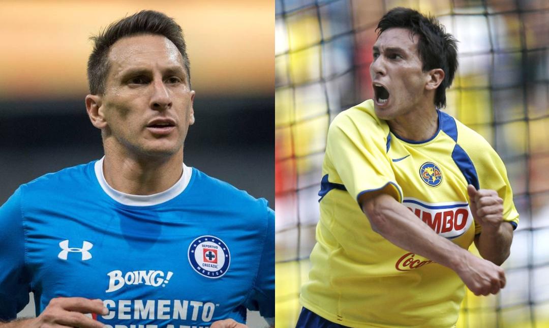 América Cruz Azul jugadores equipos Chaco Giménez