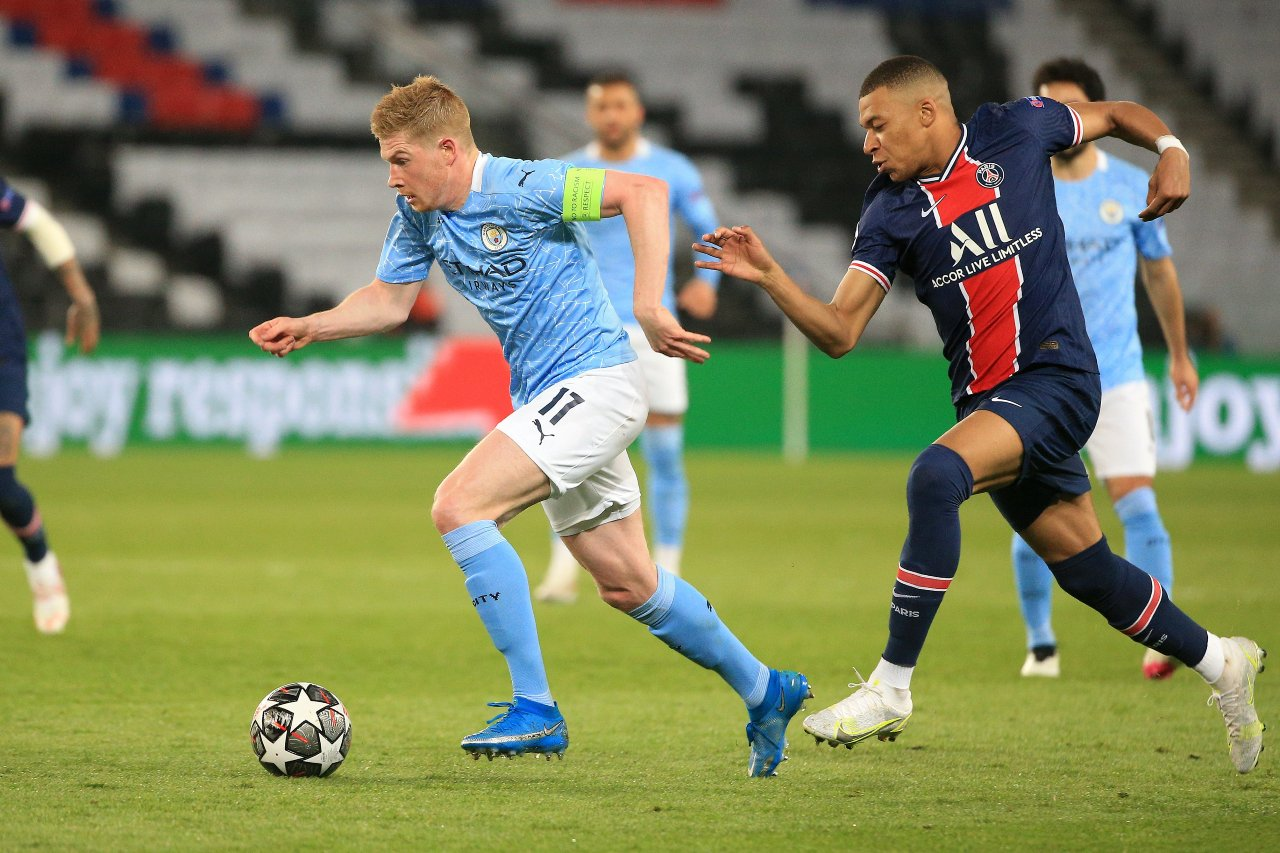 Manchester City PSG semifinales Champions League