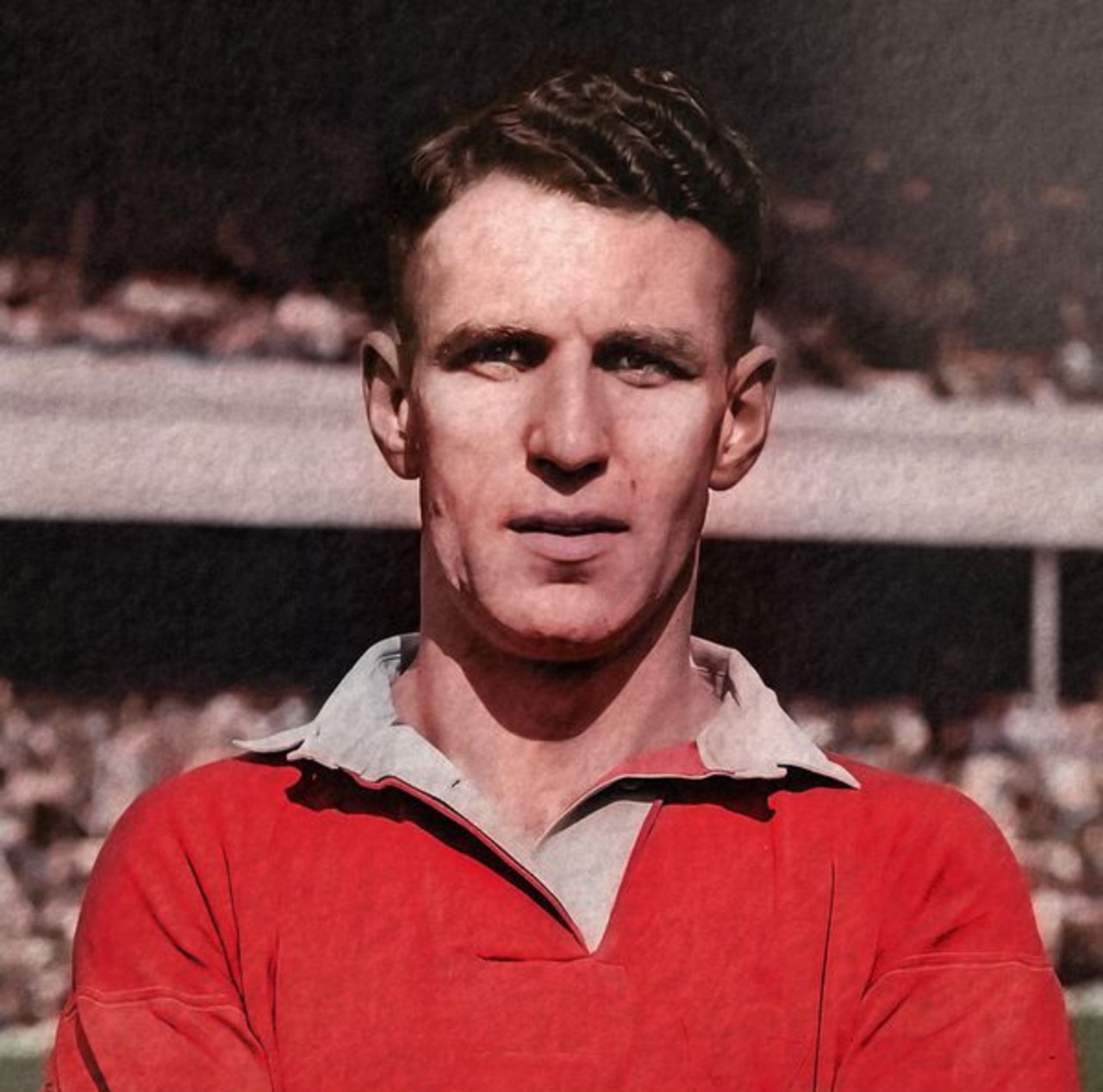 Manchester United máximos goleadores Jack Rowley