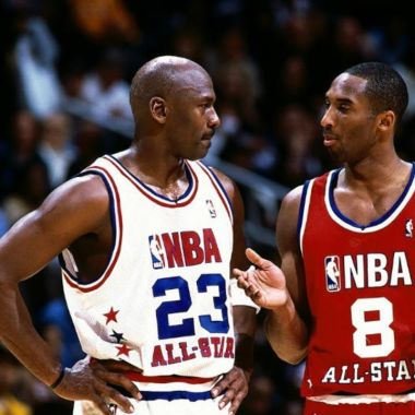 Michael Jordan presentación Kobe Bryant Hall of Fame