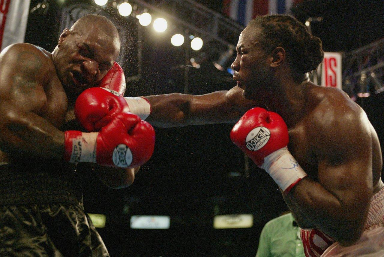 Mike Tyson Lennox Lewis pelea revancha
